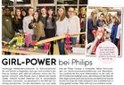 GIRL-POWER bei Philips