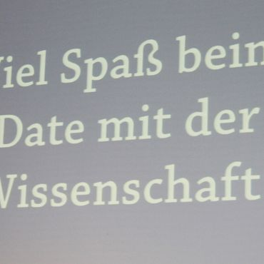 Speed-Dating 2013 in der TUHH